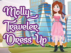 Molly Traveler Dress Up