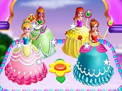 Princesses Cake Cooking